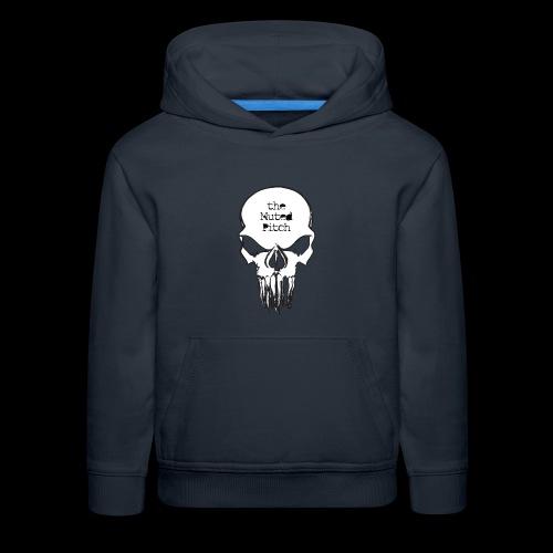tMP Sketched Skull - Kids' Premium Hoodie