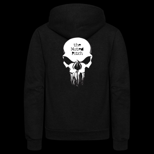 tMP Sketched Skull - Unisex Fleece Zip Hoodie