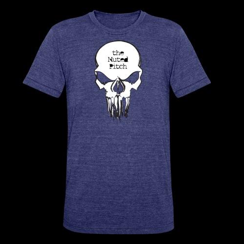 tMP Sketched Skull - Unisex Tri-Blend T-Shirt
