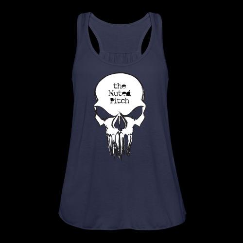 tMP Sketched Skull - Women's Flowy Tank Top by Bella
