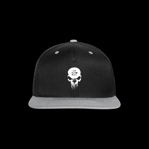 tMP Sketched Skull - Snap-back Baseball Cap