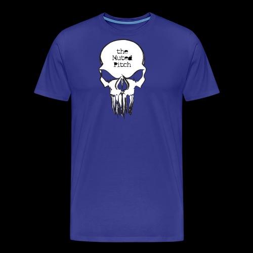 tMP Sketched Skull - Men's Premium T-Shirt