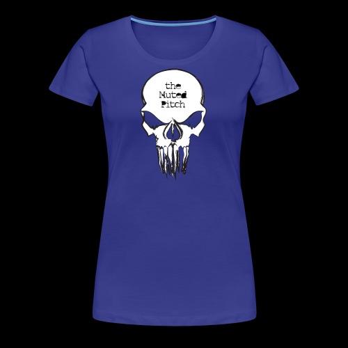 tMP Sketched Skull - Women's Premium T-Shirt