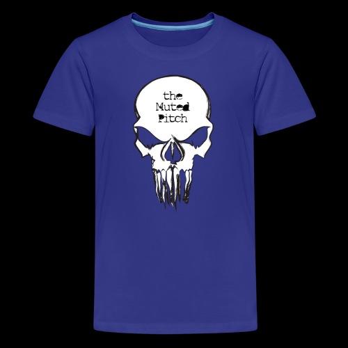 tMP Sketched Skull - Kids' Premium T-Shirt