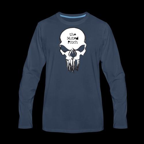 tMP Sketched Skull - Men's Premium Long Sleeve T-Shirt