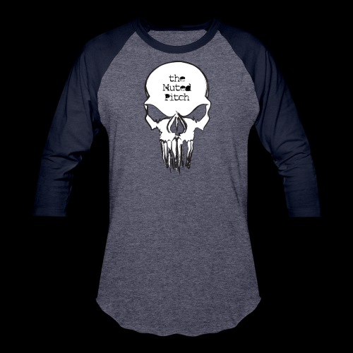 tMP Sketched Skull - Baseball T-Shirt