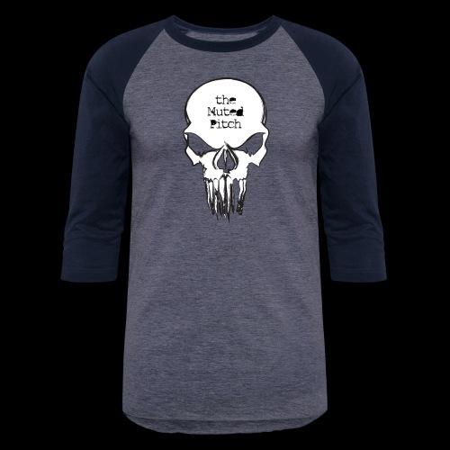 tMP Sketched Skull - Baseball T-Shirt