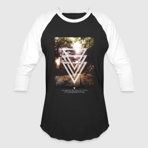 mystic forest triangles Tanks - Baseball T-Shirt