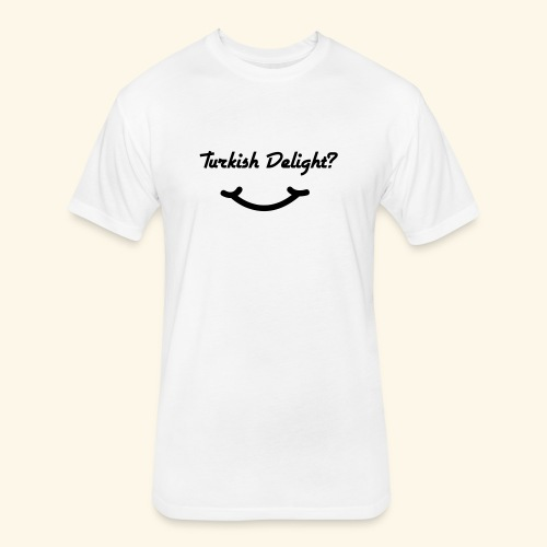 Turkish Delight? - Fitted Cotton/Poly T-Shirt by Next Level