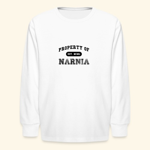 Property of Narnia - Kids' Long Sleeve T-Shirt