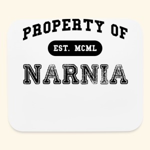 Property of Narnia - Mouse pad Horizontal