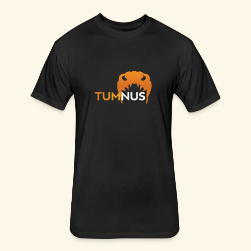 Talk Show Tumnus - Fitted Cotton/Poly T-Shirt by Next Level