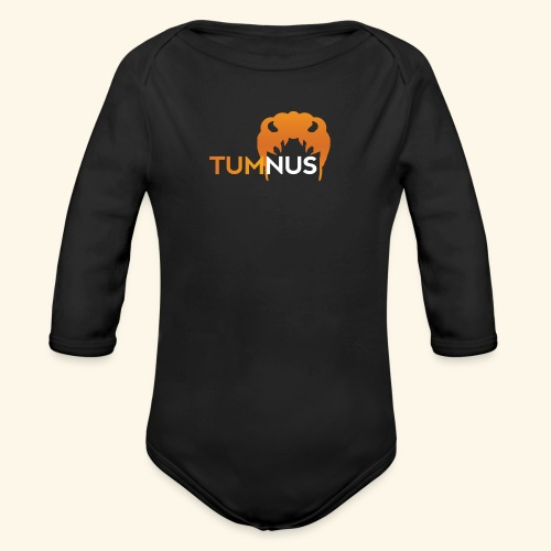 Talk Show Tumnus - Organic Long Sleeve Baby Bodysuit