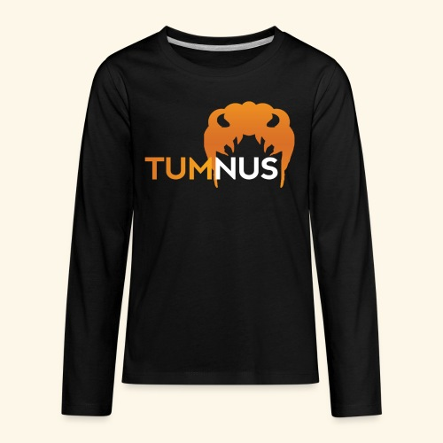 Talk Show Tumnus - Kids' Premium Long Sleeve T-Shirt
