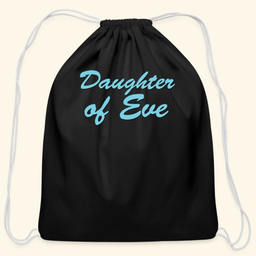 Daughter of Eve - Cotton Drawstring Bag