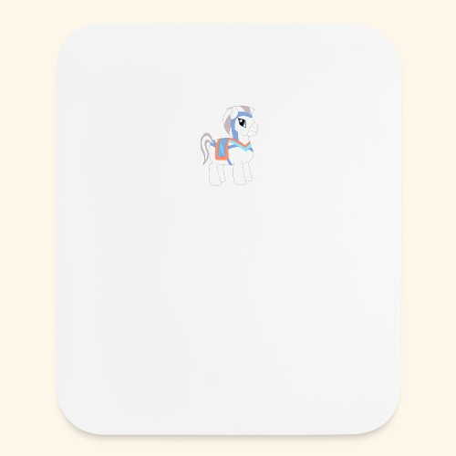 Arabian To the North Pony - Mouse pad Vertical