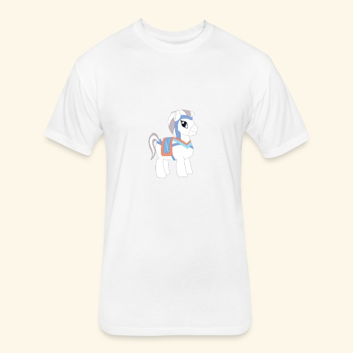 Arabian To the North Pony - Fitted Cotton/Poly T-Shirt by Next Level