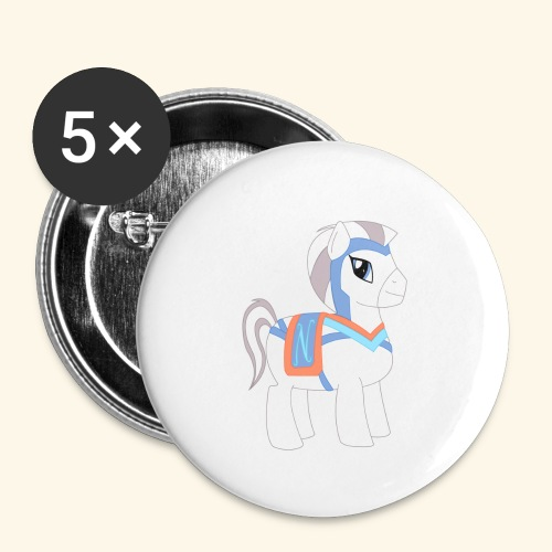 Arabian To the North Pony - Small Buttons