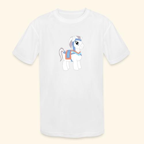 Arabian To the North Pony - Kids' Moisture Wicking Performance T-Shirt