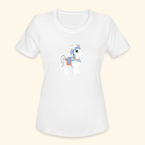 Arabian To the North Pony - Women's Moisture Wicking Performance T-Shirt