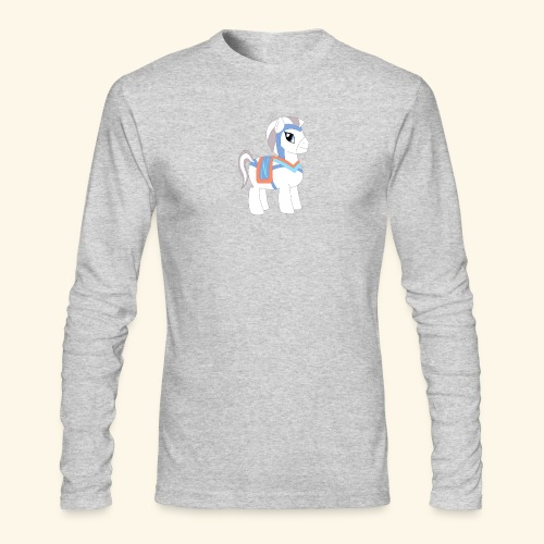 Arabian To the North Pony - Men's Long Sleeve T-Shirt by Next Level
