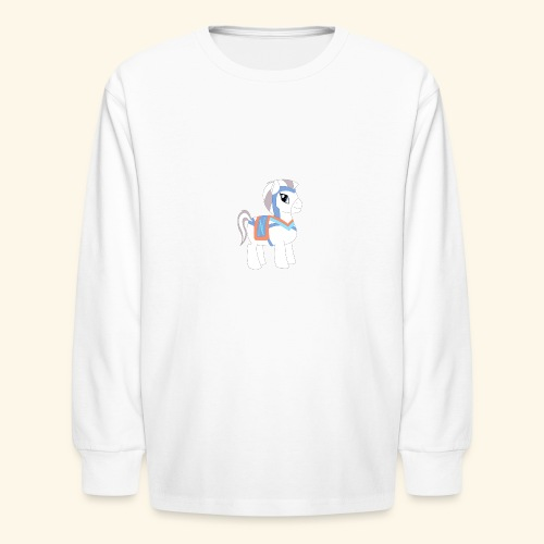 Arabian To the North Pony - Kids' Long Sleeve T-Shirt