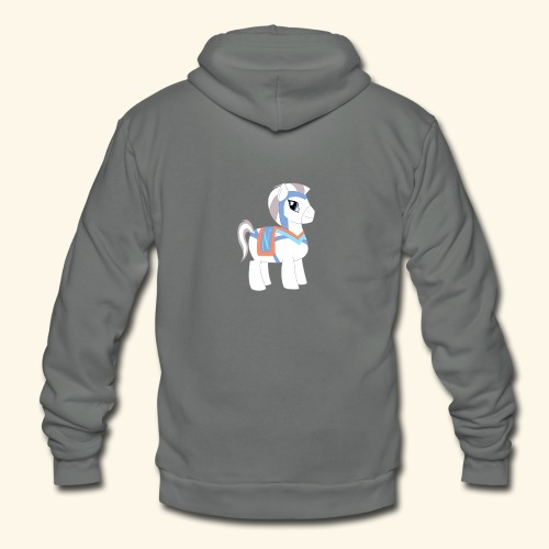 Arabian To the North Pony - Unisex Fleece Zip Hoodie