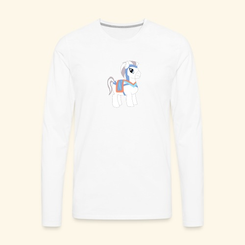 Arabian To the North Pony - Men's Premium Long Sleeve T-Shirt
