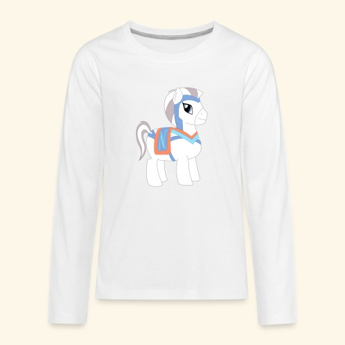 Arabian To the North Pony - Kids' Premium Long Sleeve T-Shirt