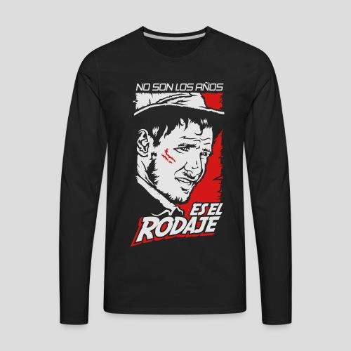 Indiana Jones: Es el Rodaje [ESP] - Men's Premium Long Sleeve T-Shirt
