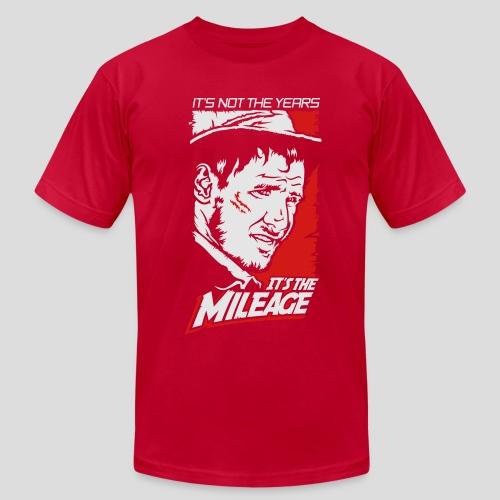 Indiana Jones: It's the Mileage - Men's Fine Jersey T-Shirt