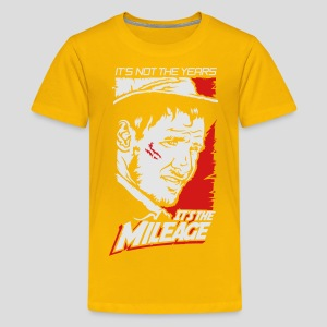 Indiana Jones: It's the Mileage - Kids' Premium T-Shirt