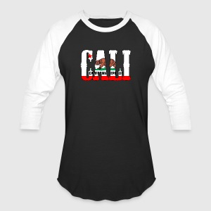 Cali Republic Bear Tanks - Baseball T-Shirt