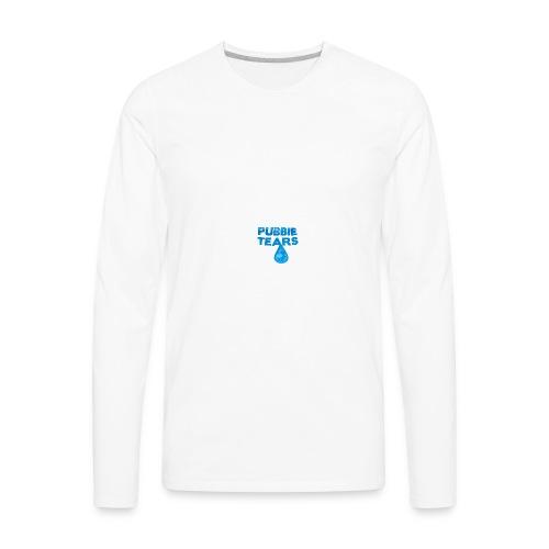 Pubbie Tears Mug - Men's Premium Long Sleeve T-Shirt