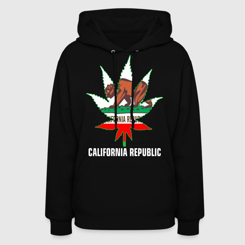Weed California Republic Hoodies - Women's Hoodie