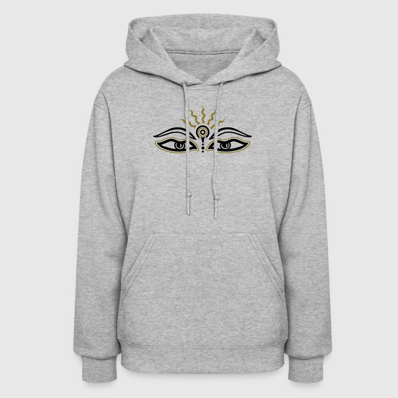 Buddha, third eye, symbol wisdom & enlightenment Hoodies - Women's Hoodie