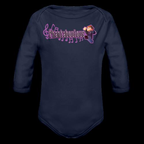 PHANTABOULOUS - Organic Long Sleeve Baby Bodysuit