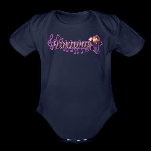 PHANTABOULOUS - Organic Short Sleeve Baby Bodysuit