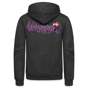 PHANTABOULOUS - Unisex Fleece Zip Hoodie by American Apparel