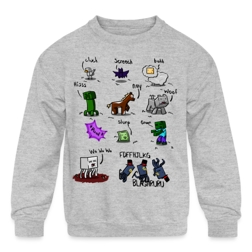 The Squid - Kids' Crewneck Sweatshirt