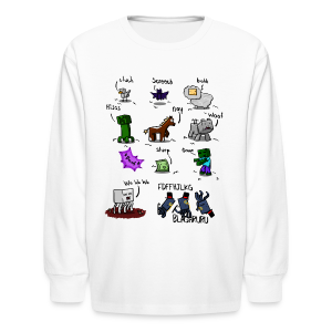 The Squid - Kids' Long Sleeve T-Shirt