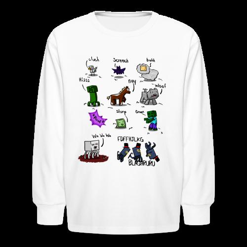 The Squid - Kids' Long Sleeve T-Shirt