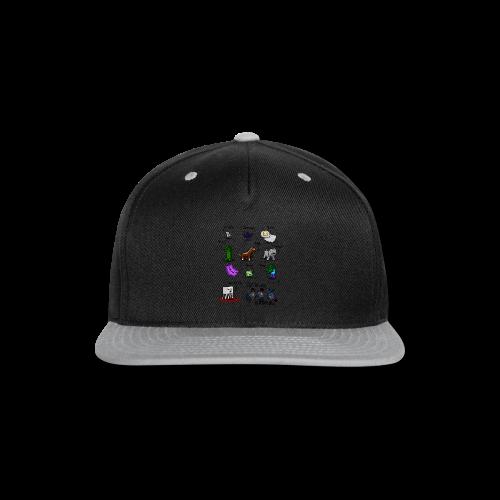 The Squid - Snap-back Baseball Cap