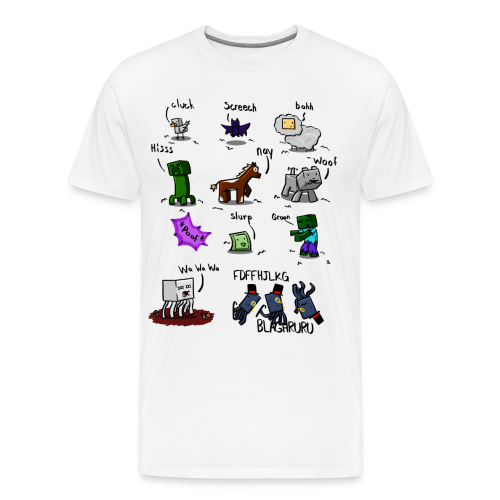 The Squid - Men's Premium T-Shirt