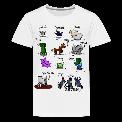 The Squid - Kids' Premium T-Shirt