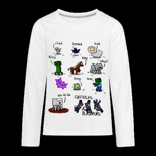 The Squid - Kids' Premium Long Sleeve T-Shirt