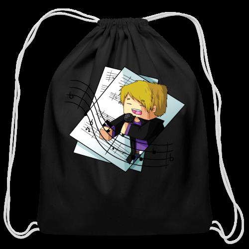 Sing with me! - Cotton Drawstring Bag