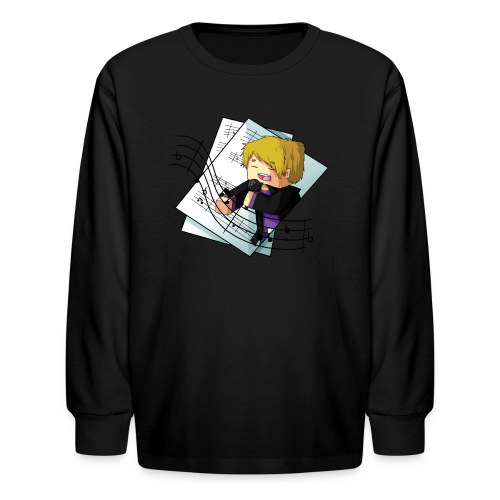 Sing with me! - Kids' Long Sleeve T-Shirt