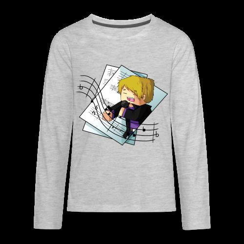 Sing with me! - Kids' Premium Long Sleeve T-Shirt