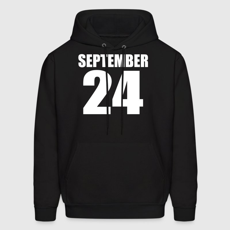 september 24 Hoodies - Men's Hoodie